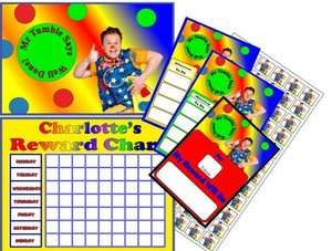Mr Tumble Behaviour Reward Chart Pack Personalised
