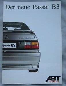 ABT Tuning VW Passat B3 (German) Brochure