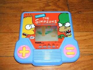 Tiger Electronics Talking The Simpsons Bart v Homer