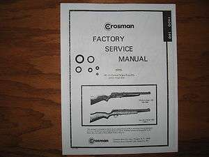 Crosman 130 Manual http://www.popscreen.com/p/MTU1MjEyMDk0/crosman-seal-kit-in-Hunting