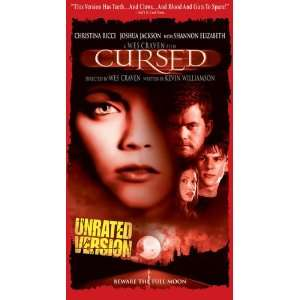 Cursed [VHS]: Christina Ricci, Joshua Jackson: Movies & TV