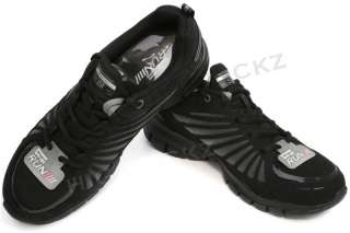 Skechers Tone Ups Black 11775 Run High Performance Toning Womens