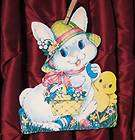 Easter paper plate Chick Bunny Basket Craft Kit