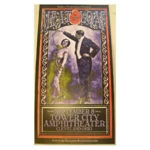 Meatloaf Poster Handbill Meat Loaf Tower City Amphitheatre