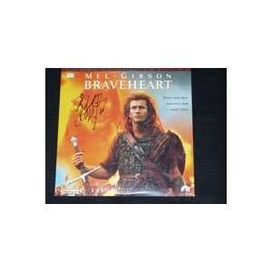 (Mel Gibson) Autographed/Hand Signed Laser Disc Cover by Mel Gibson