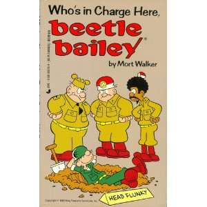 in Charge Here, Beetle Bailey (9780515097764) Mort Walker Books