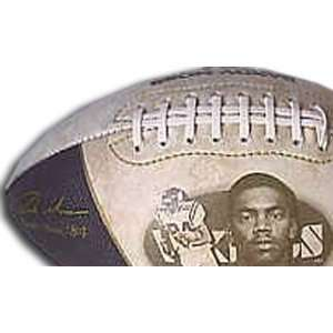 Randy Moss Embroidered Foto Football:  Sports & Outdoors