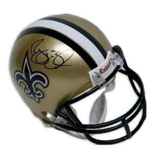 Reggie Bush Autographed/Hand Signed New Orleans Saints Mini Helmet