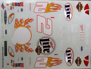 Rusty Wallace 2000 Miller Lite Harley Davidson Ford