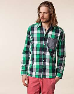Connor Shirt   Jack & Jones   Green   Shirts (men)   Clothing men