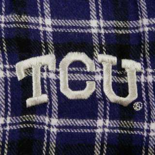 TCU Horned Frogs Match up Flannel Pants