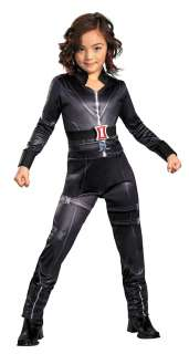 Girls Black Widow Avengers Classic Costume