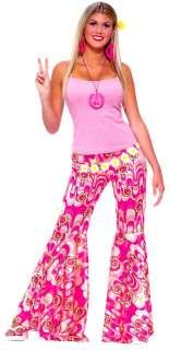 Hippie Flower Power Bell Bottom Pants   Hippie Costumes