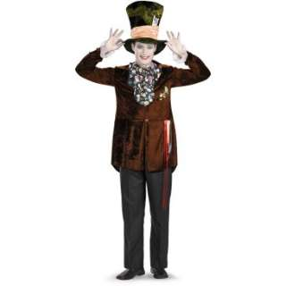 Alice In Wonderland Movie Deluxe Mad Hatter Adult Costume, 69867