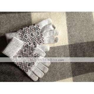modelo elegante de diamante guantes de pantalla táctil para iPhone