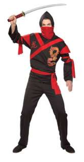 Adult Dragon Warrior Ninja Costume   Ninja Costumes