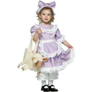 Mary Had a Little Lamb Toddler Costume, 62017