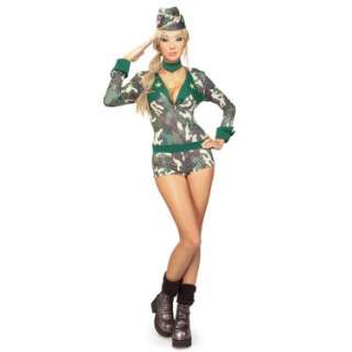Halloween Costumes Army Girl Adult
