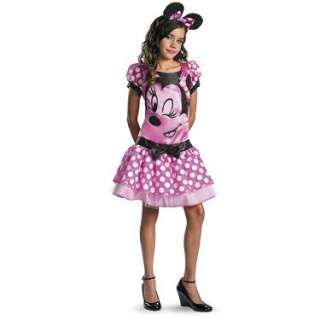 Costumes Mickey Mouse Clubhouse   Pink Minnie Mouse Tween Costume