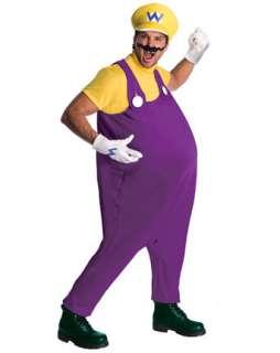 Mens Deluxe Super Mario Wario Costume  Wholesale TV and Movie