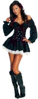 Playboy Sexy Swashbuckler Costume  Womens Sexy Pirate Costume