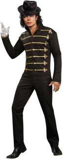 Michael Jackson Military Printed Jacket Adult Costume   Includes