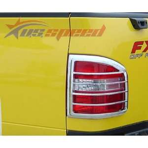 2004 2008 Ford F150 Flareside Chrome Tail Light Covers 2PC