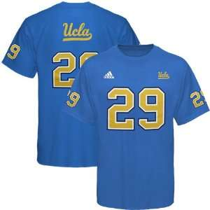adidas UCLA Bruins #29 Football Player T Shirt   Light