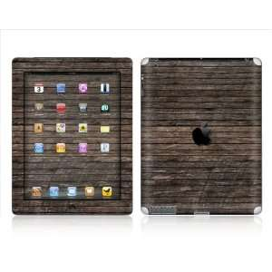 Apple  iPAD 2  WOOD   Removable Decorative skin/vinyl Sticker. PLUS