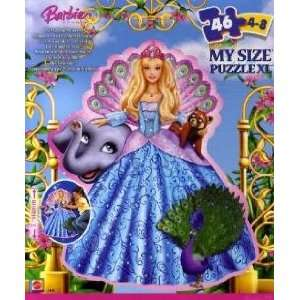 BARBIE The Island Princess My Size Puzzle Toys & Games