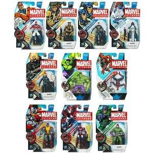 Marvel Universe Action Figures Wave 10 Case Of 12 Toys & Games