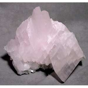 Calcite Natural Pink Mangano Calcite Crystal Specimen China: