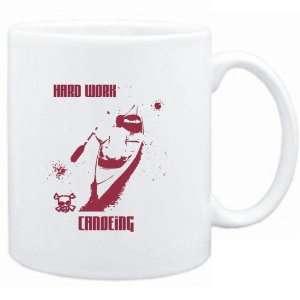 Mug White  HARD WORK Canoeing  Sports Sports & Outdoors