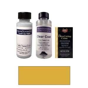 Gold Metallic Paint Bottle Kit for 2004 Nissan Quest (C10) Automotive