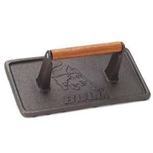 Bull Cast Iron Rectangular Grill Press Patio, Lawn