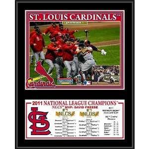 St. Louis Cardinals 2011 National League Champions 12x15
