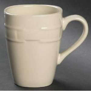 Woven Traditions Ivory Mug, Fine China Dinnerware Kitchen & Dining