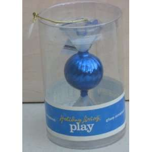 Glass Christmas Tree Ornament by Holiday Living Play Electronics