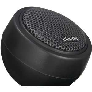 Clarion Mobile Electronics SRQ212H 3/4 Inch Silk Dome Tweeter Car