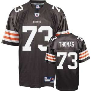 Joe Thomas #73 Cleveland Browns Replica NFL Jersey Brown