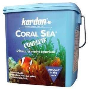 com Kordon Coral Sea Complete Marine Aquarium Salt Mix Pet Supplies
