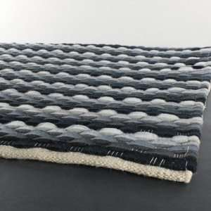 Dalamere Hand Woven Contemporary Blue Rug   DAL24701