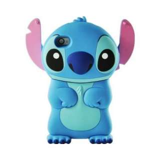 Disney 3d Stitch Movable Ear Flip Hard Case Cover for