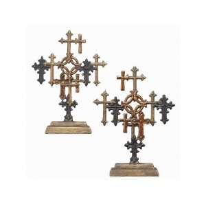 Decorative Religious Multi Color Table Top Crosses