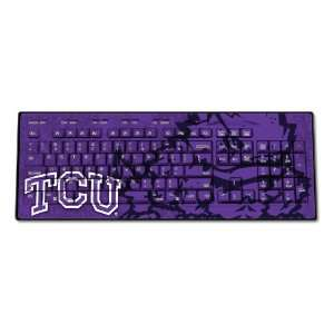 TCU Horned Frogs Wired USB Keyboard
