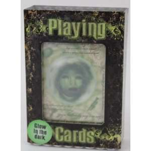 Disney Parks Haunted Mansion Glow in the Dark Playing Cards Sports