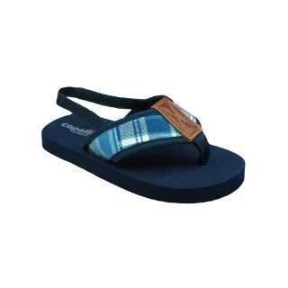 Infant Toddler Boys Brown Thong Sandal Shoes