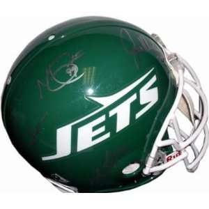 com Sack Exchange (New York Jets) Football Helmet Sports & Outdoors