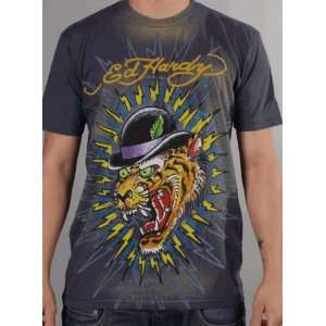 08 Collection Ed Hardy Mens T Shirt Purple Everything