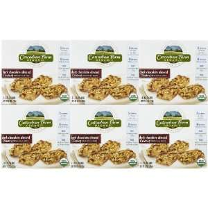 Cascadian Farms Organic Granola Bars, Dark Choc Almond, 6 pk